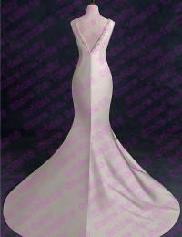 Real Mermaid Wedding Dresses 2016 Beading V-Neck Sexy Wedding Gowns Vestido De Casamento Custom Made China Online Store W1105C