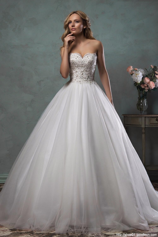 Vintage Wedding Dress 2016 Ball Gown Bridal Gowns Robe De Mariee Wedding Gowns Sexy Vestidos De Novias Beaded Lace New W0409B