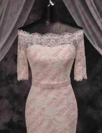 100% Real Mermaid Wedding Dresses Robe De Mariage Beading Sash Off Shoulder Lace Weddin Dress 2015 Hot Sale Sweetangel MM08