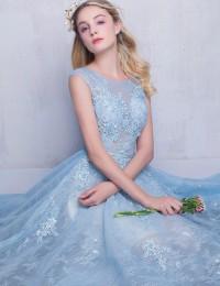 Charming Evening Dress Vestido De Festa Longo Lace Prom Dresses Robe De Soiree Buy Direct From China Party Dresses 2016 P1164