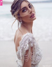 Sparkle A-Line Beach Wedding Dress 2016 Online Shop China Beading Vintage Wedding Dress Bridal Gowns Robe De Mariage W02244