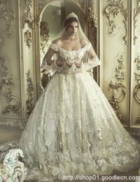 Wedding Dress 2016 Vestido De Noiva Longo Sexy Off Shoulder Bridal Dresses Robe De Maraige Appliques Luxury Beading New W1149