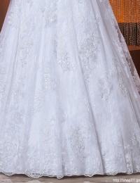 Vestido De Casamento Vestido De Noiva Lace Wedding Dress See Through Wedding Dresses Robe De Mariage Bride Dresses 2015 BW-46