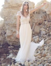 Lace Wedding Dress 2016 Luxury Beading Robe De Mariee Vestido De Noiva Vintage Wedding Dress Gowns Beach Wedding Dress W02243