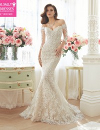 Vestido De Noiva Sereia 2016 Mermaid Wedding Dresses 3/4 Sleeves See Through Back Sexy Bridal Gowns China Online Shop New W11632