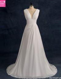 Real Cheap Wedding Dresses China Online Store Vintage Wedding Gowns Pleat A-Line Wedding Gowns Robe De maraige 2016 W1105A