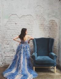 Colorful Prom Dresses Lace Evening Gowns Robe De Mariage Vestido De Festa Longo Strapless Sexy Party Dresses Tullw 2016 PH-31