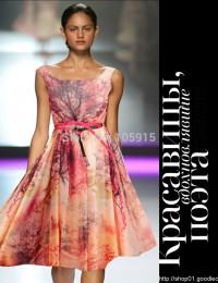 Gorgeous Vestido De Festa Curto Colorful Silk Scoop Knee Length Party Dresses Short Bridesmaid Dresses Prom Dresses 2015 MK-5