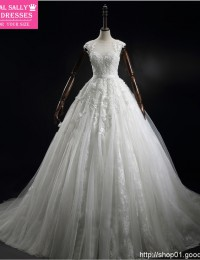 Lace Wedding Dress See Through A-Line Robe De Mariage Vintage China Wedding Dress Real Custom Made Bride Dresses 2015 BW-03