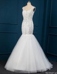 Real Foto Vestidos De Noiva Trumpet Mermaid Wedding Dresses Vestido De Csamento Robe De Mariage Vestido De Noiva 2015 MY-101