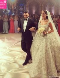 Ball Gown Princess Wedding Dress 2016 Robe De Mariage Sparkle Beading Appliques Vintage Wedding Dresses Long Train Sexy W2016-1b