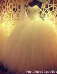 2016 Ball Gown Real Sample Vintage Wedding Dresses Beading Pearls Puffy Wedding Gowns Robe De Mariage Online Shop China