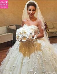 Vintage Wedding Dress 2016 Robe De Mariage Beading Appliques Vestido De Noiva Longo Casamento Bridal Dresses Sexy Romantic W1148